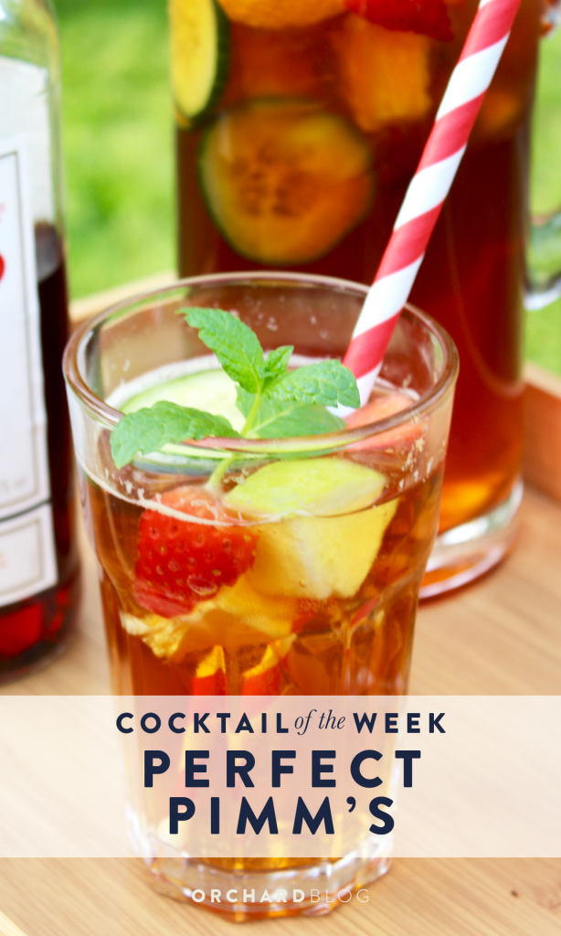 How to make the Perfect Pimm's, the ultimate summer cocktail!