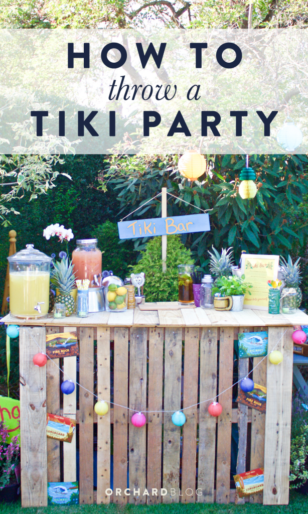 Orchard Blog | Tiki Party