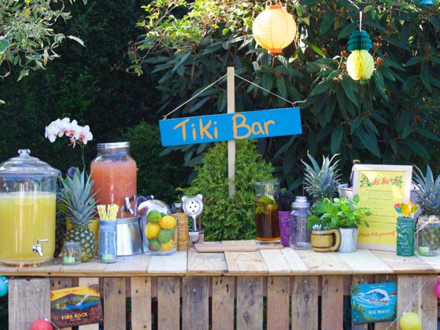 How to Throw a Tiki Party, great ideas!