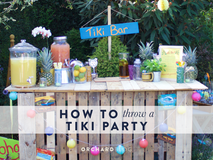How to Throw a Tiki Party