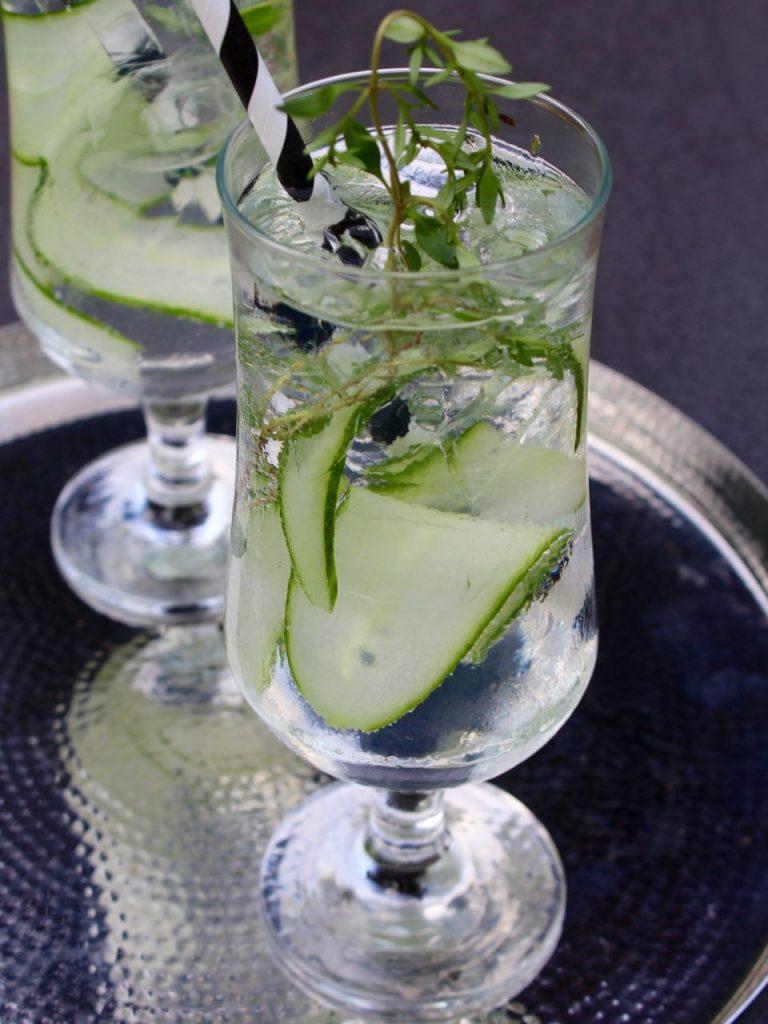 Cucumber & Thyme Spritz