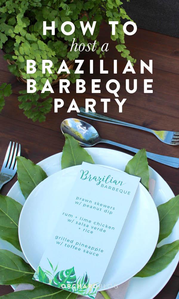 Brazilian Barbecue Party