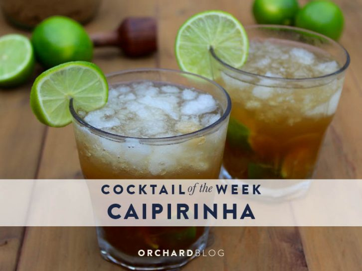 Caipirinha Brazilian Cocktail