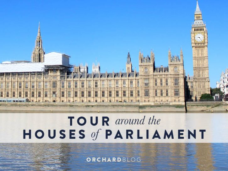 Tour around the Houses of Parliament