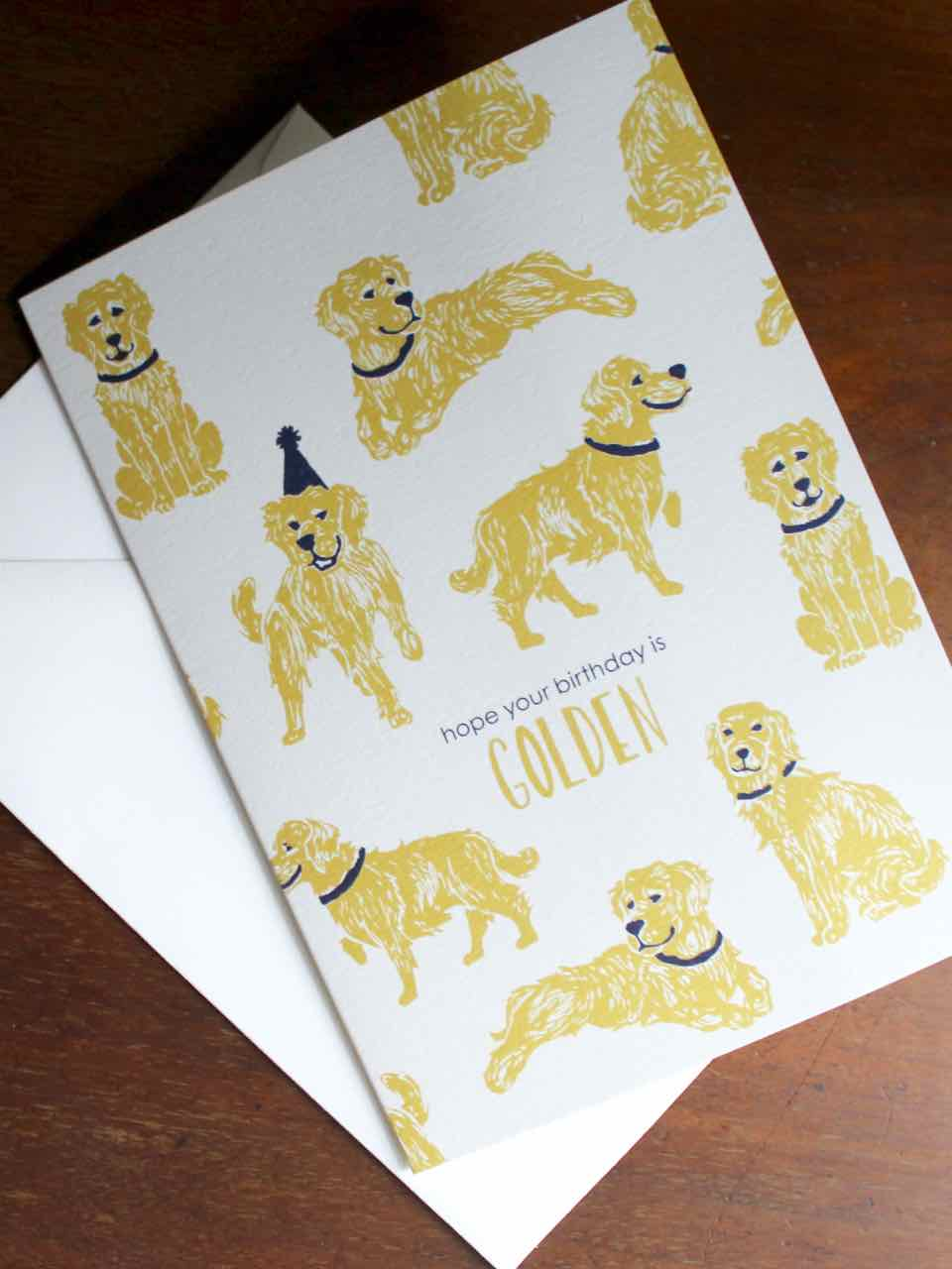 Papier Birthday Card designed by Smudge Ink
