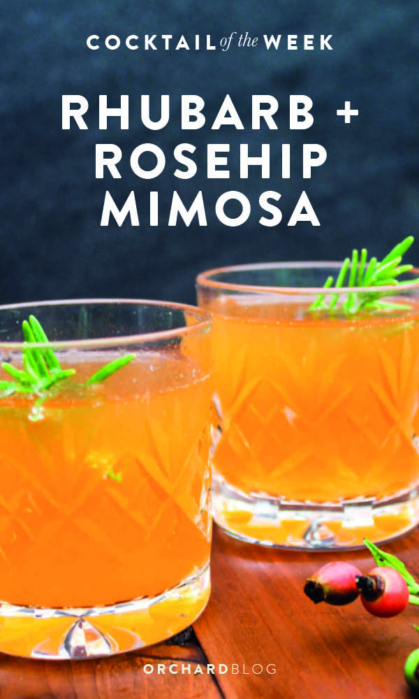 Rhubarb and Rosehip Mimosa