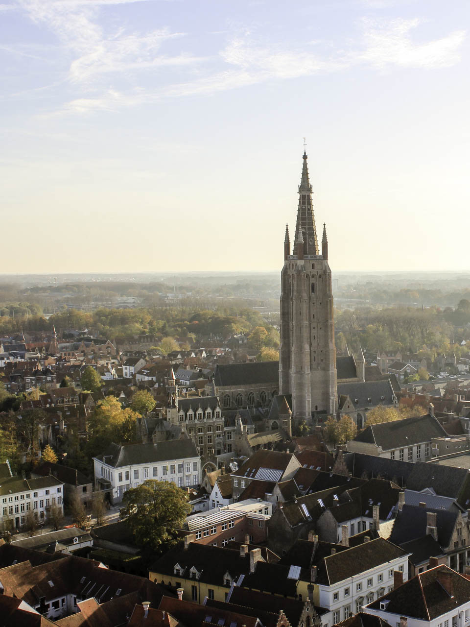 Bruges in the Autumn