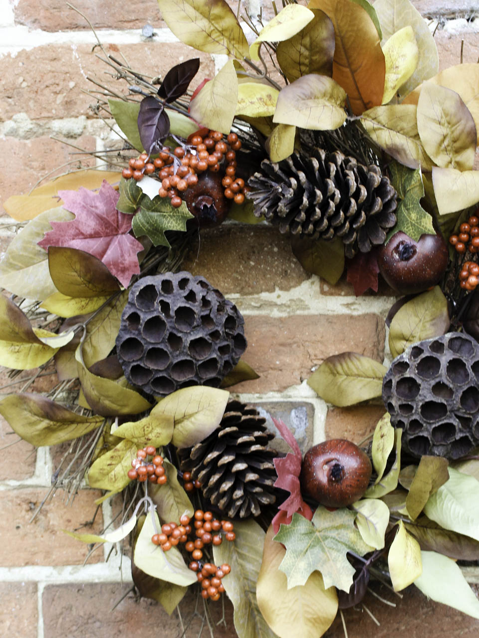 Autumn Wreath from Homesense