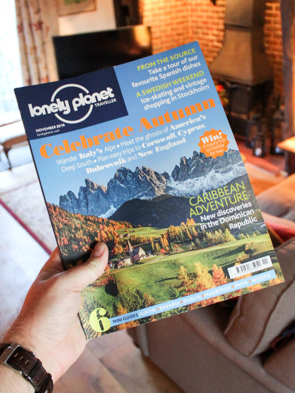 Lonely Planet October Travel