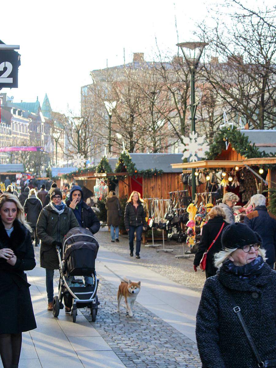 Christmas Market in Malmö