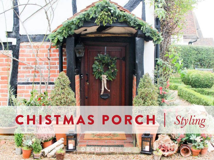 English Country Christmas Porch