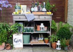 Garden Gin Tasting Bar