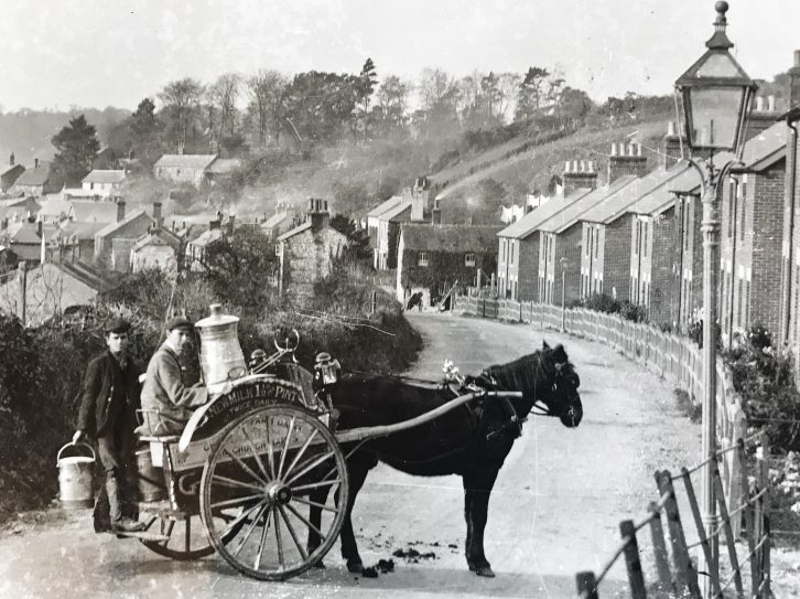 Old Photo of London Road Whitchurch
